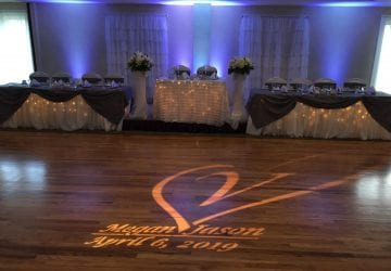 Megan and Jason's Wedding Decor! 04/06/2019
